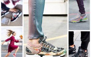 Спорт и шик: с чем носить модные кроссовки