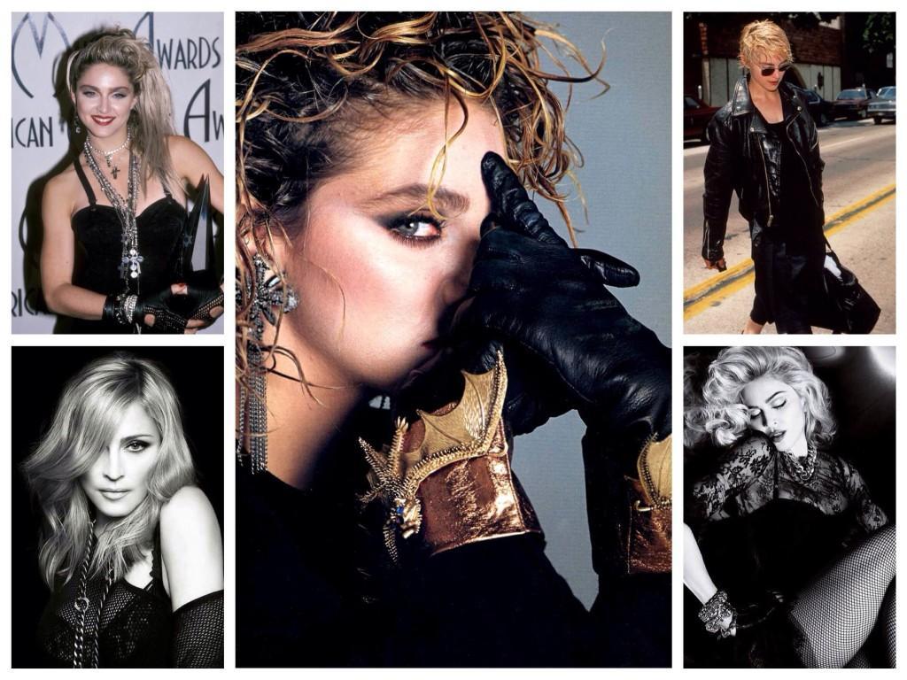 рок образы Мадонны