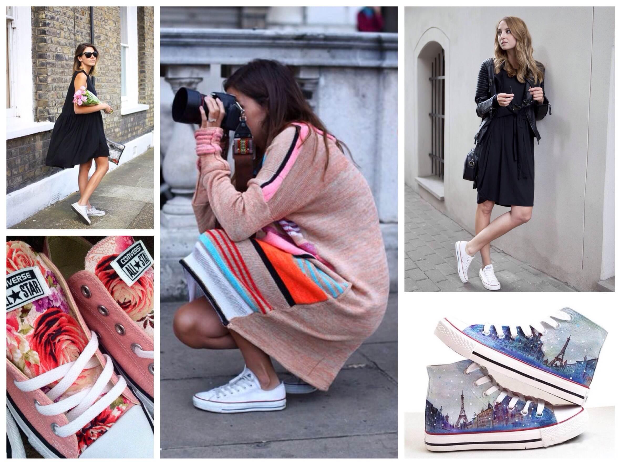 Фотографий девушка в платье и белых носках 6 фотография