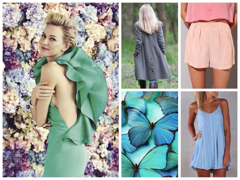 подтип светлое лето выбор одежды