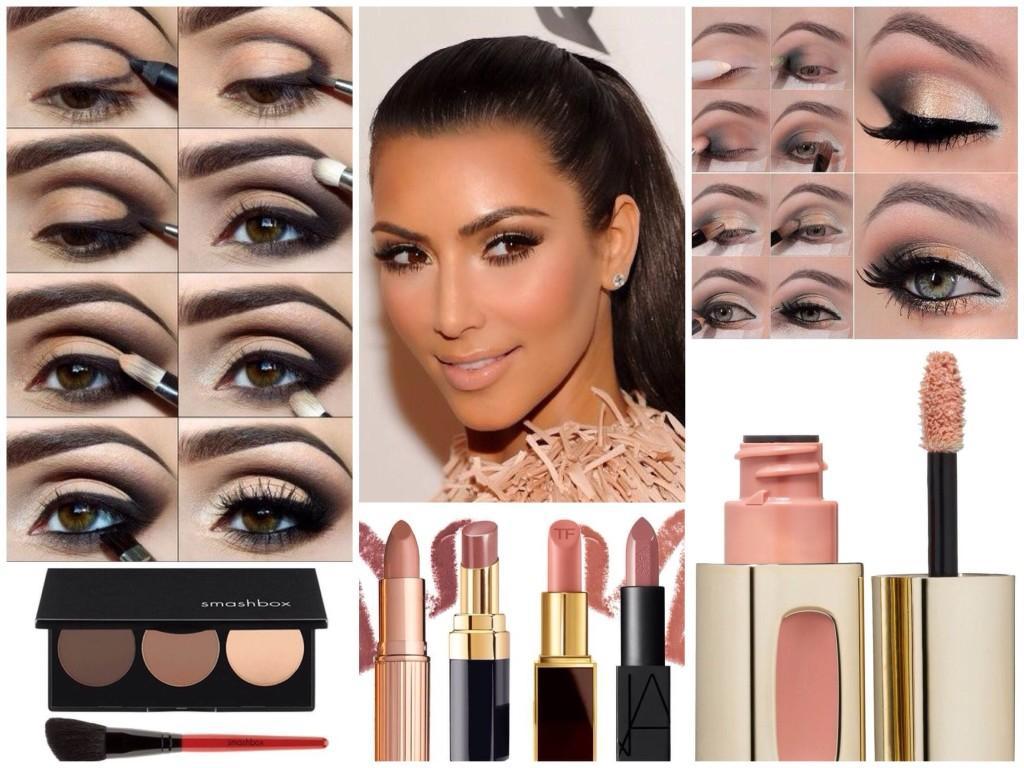 макияж Ким Кардашьян