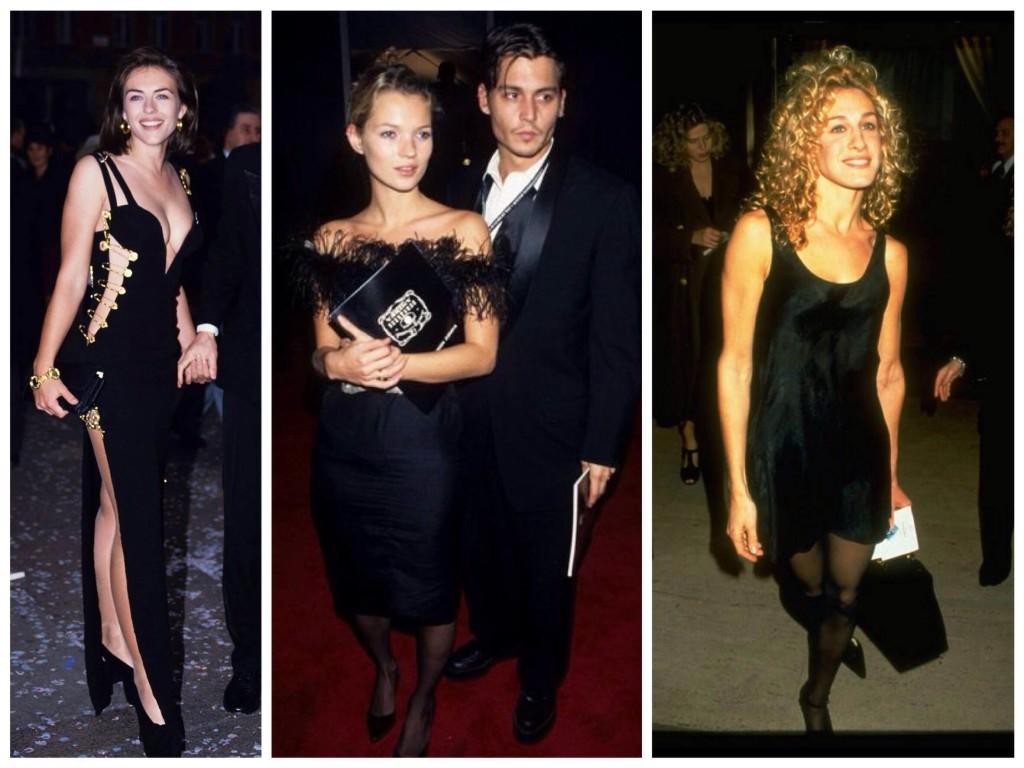 Бунтарские 90е и little black dress