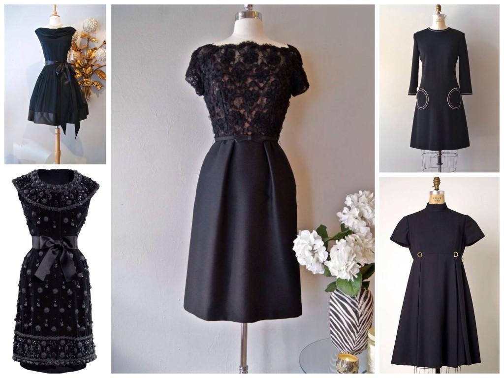 История little black dress из 60х