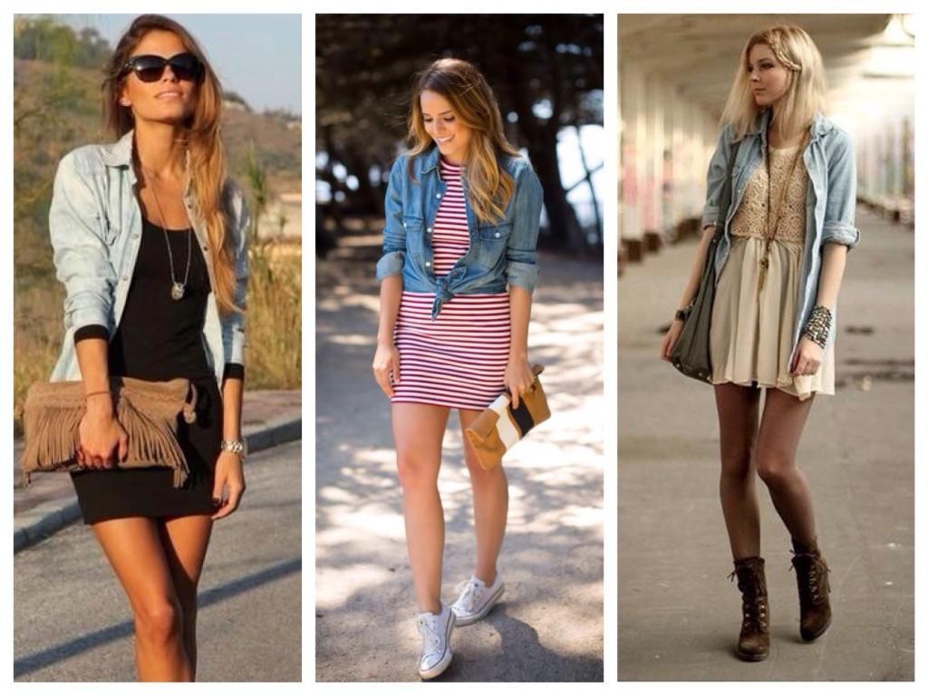 С какой обувью носить платье мини