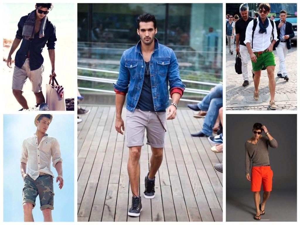 Комплекты с мужскими шортами