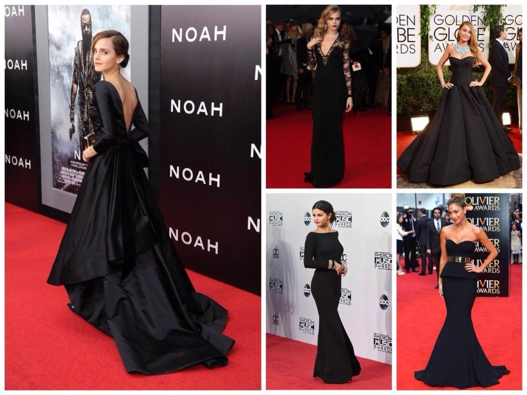 Ковровая дорожка и лучшие черные платья нового столетия