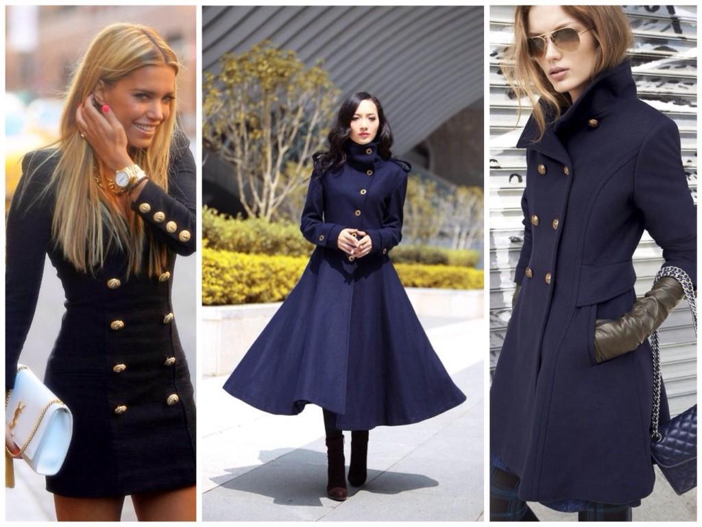 Осенние варианты пиджака и пальто