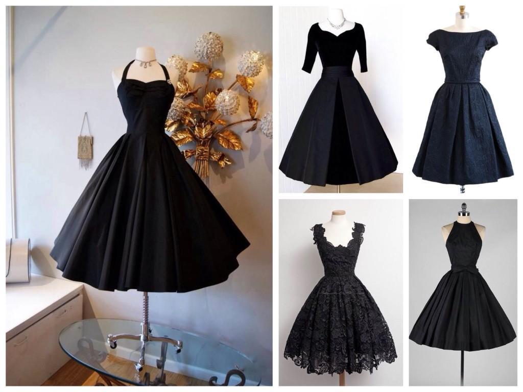 Платье 50х годов