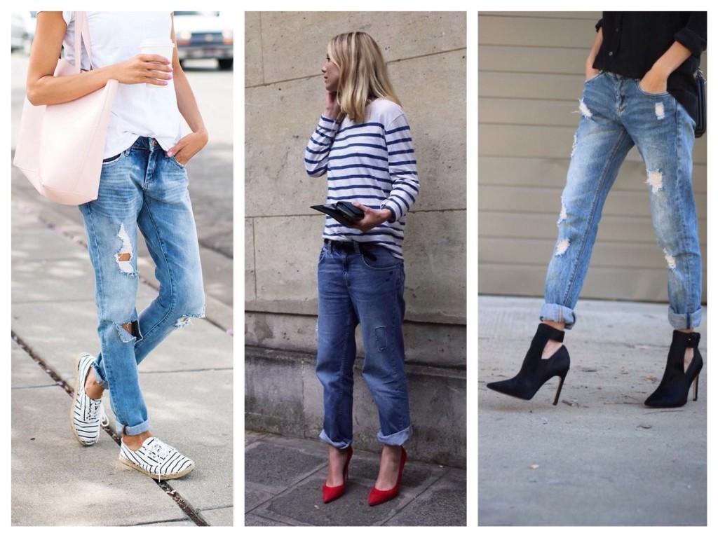 Подбор обуви под джинсы