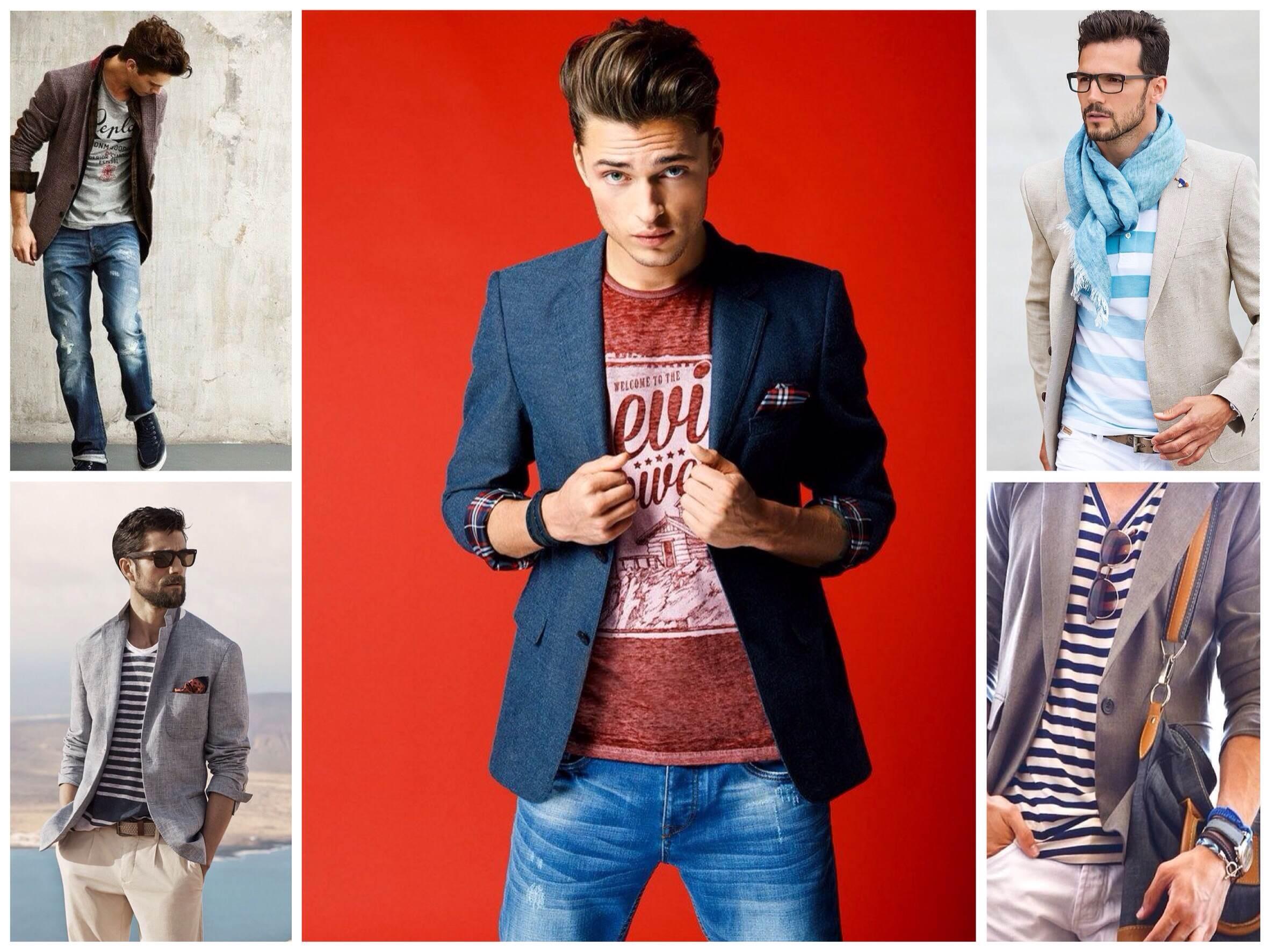 С чем носить пиджак? 161 фото, советы - photo#30
