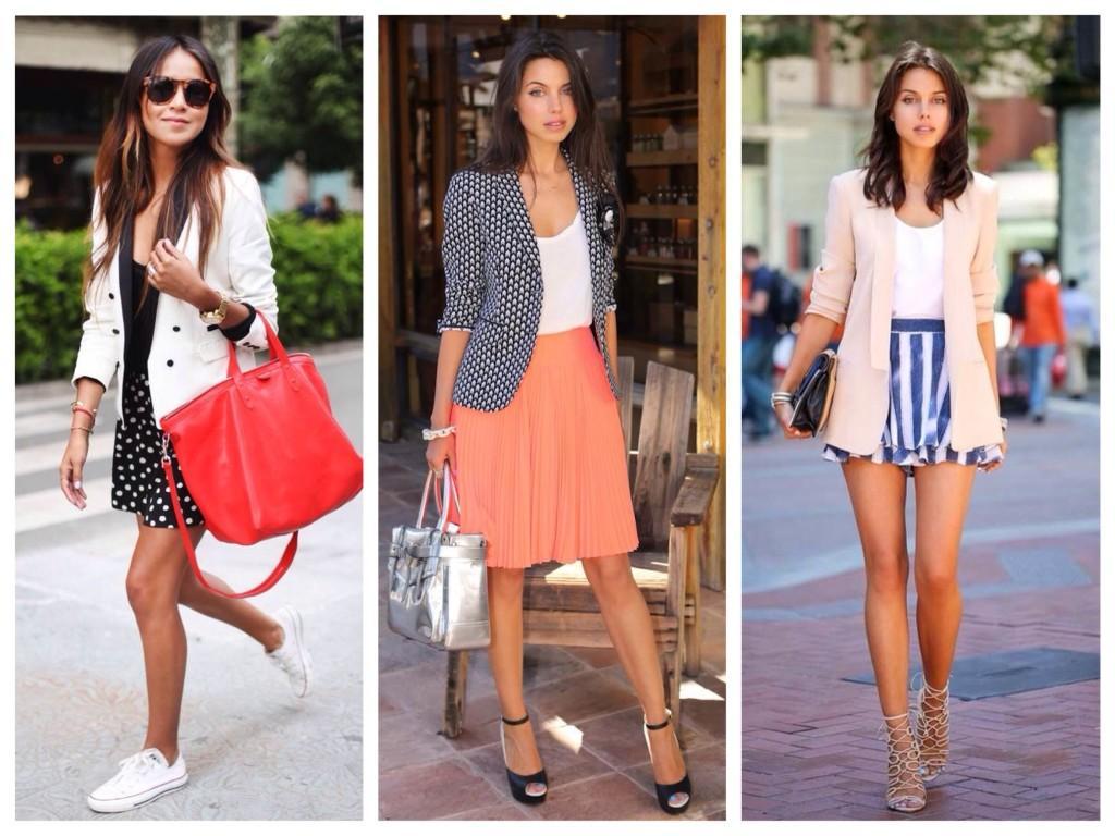Различные образы с юбками