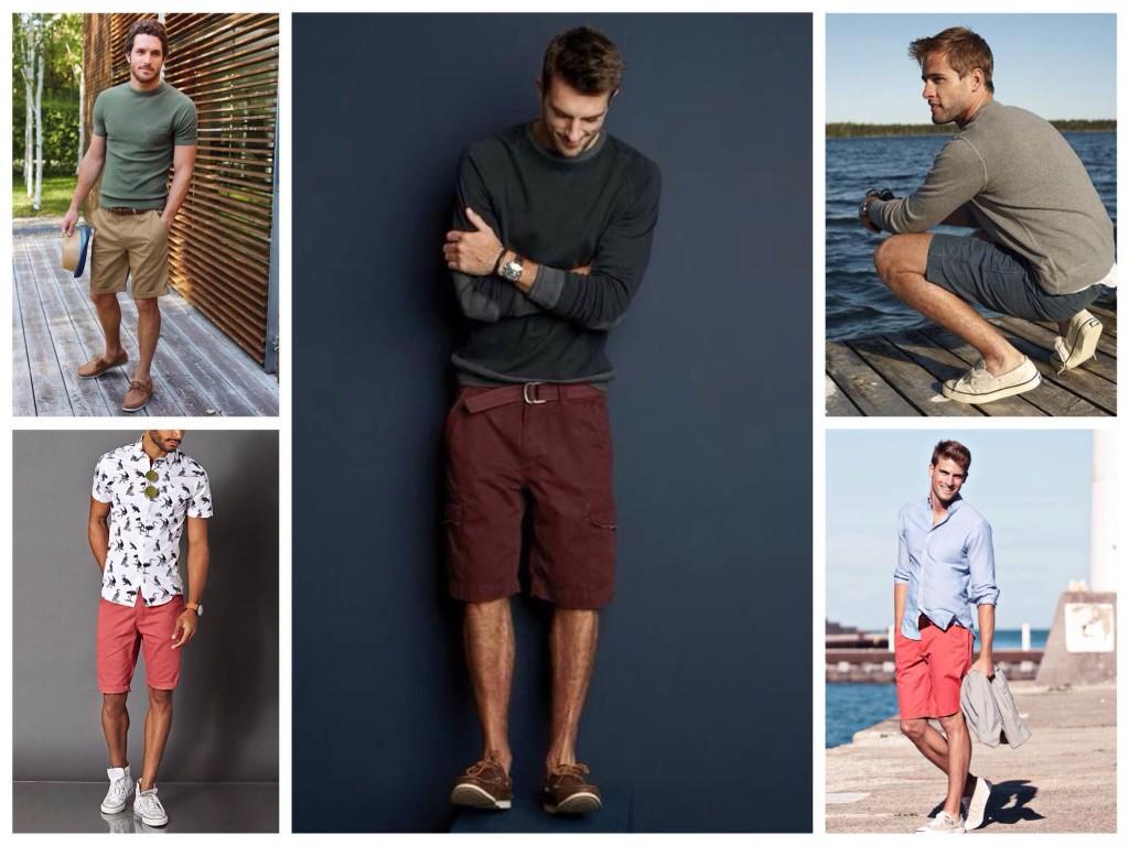 Разнообразие мужских образов с шортами