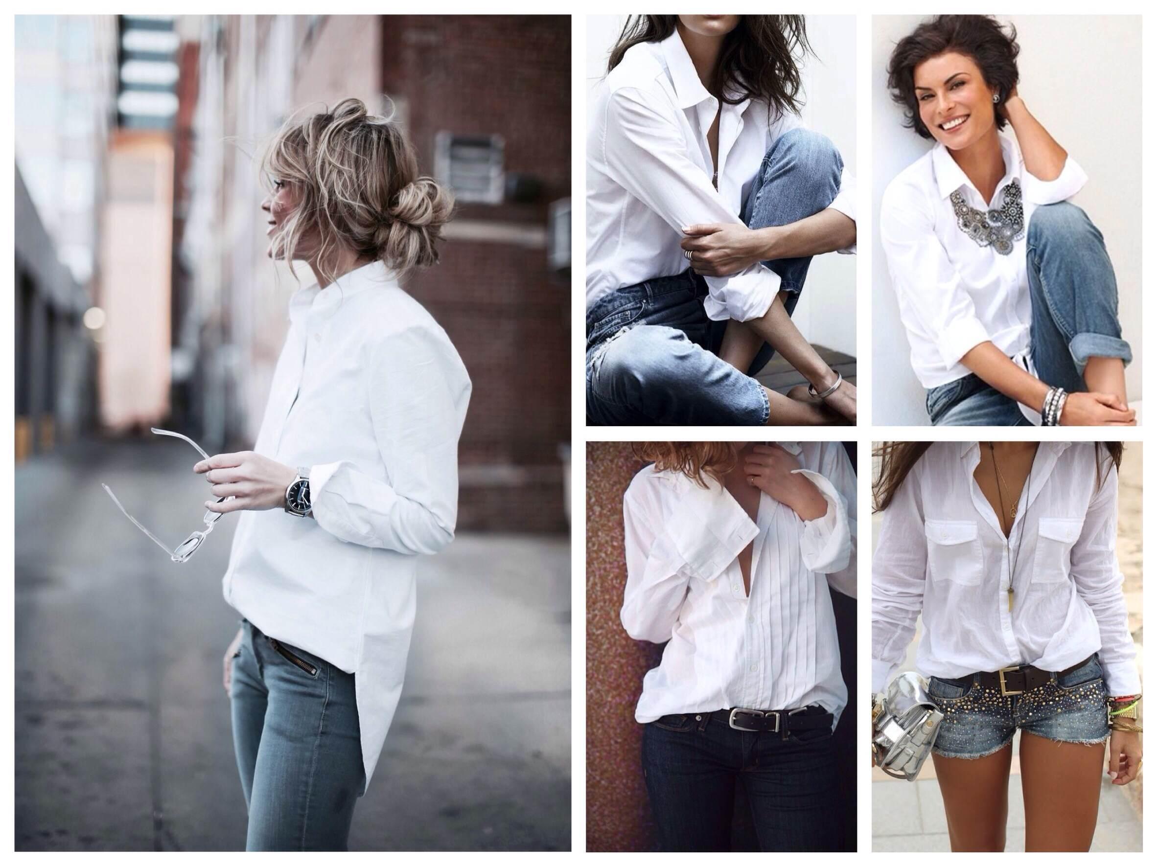Рубашка и подтяжки для девушек