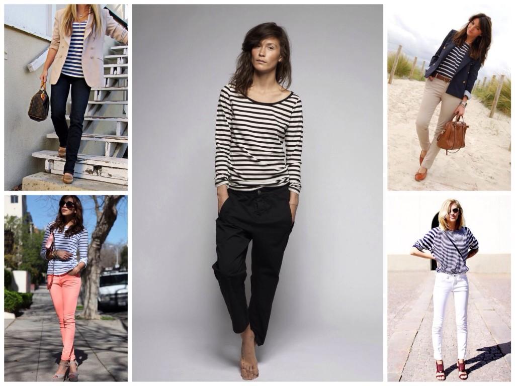 С различными вариантами брюк