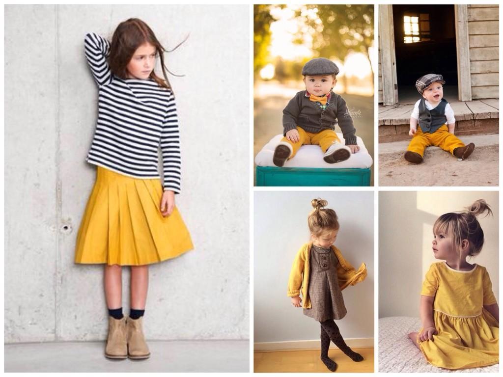 В детской одежде