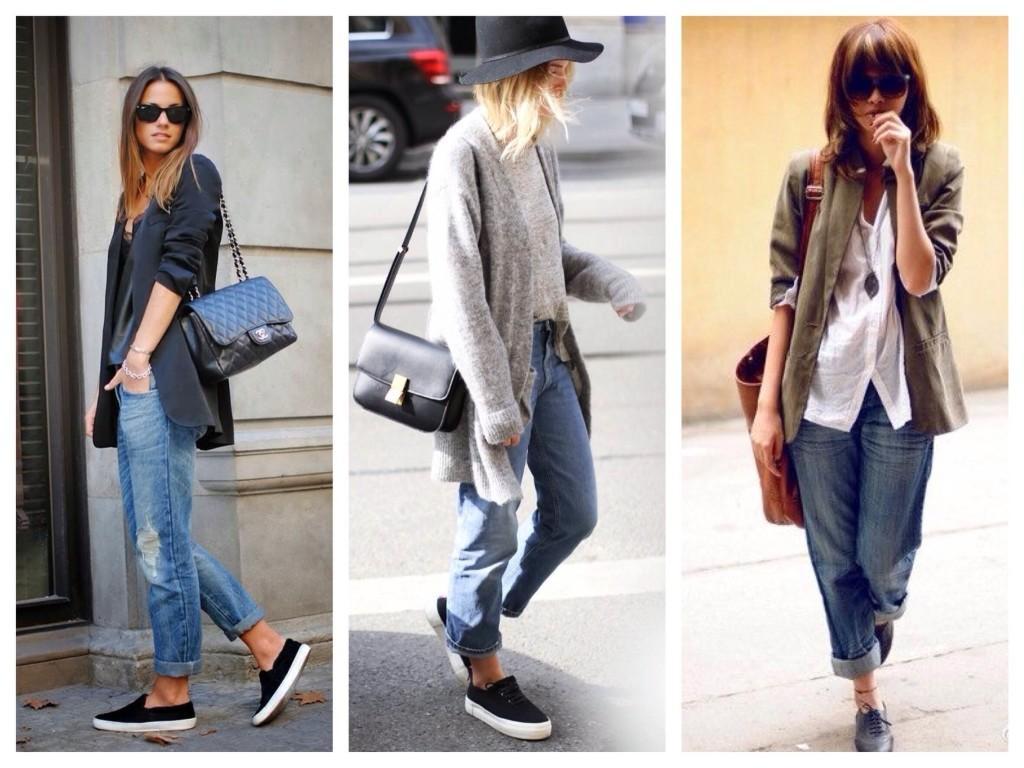 Варианты обуви под джинсы