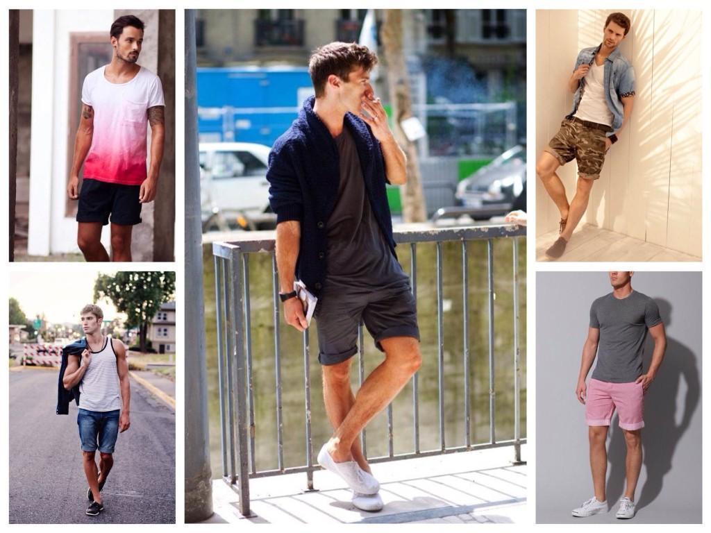 Выбор шорт на лето для мужчин