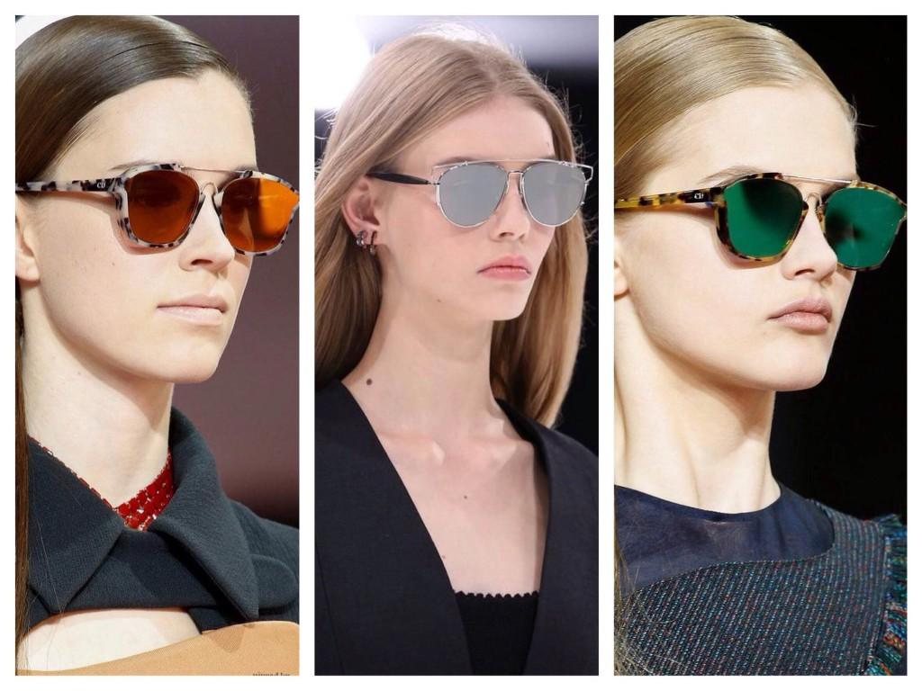 Очки коллекции Christian Dior 2015