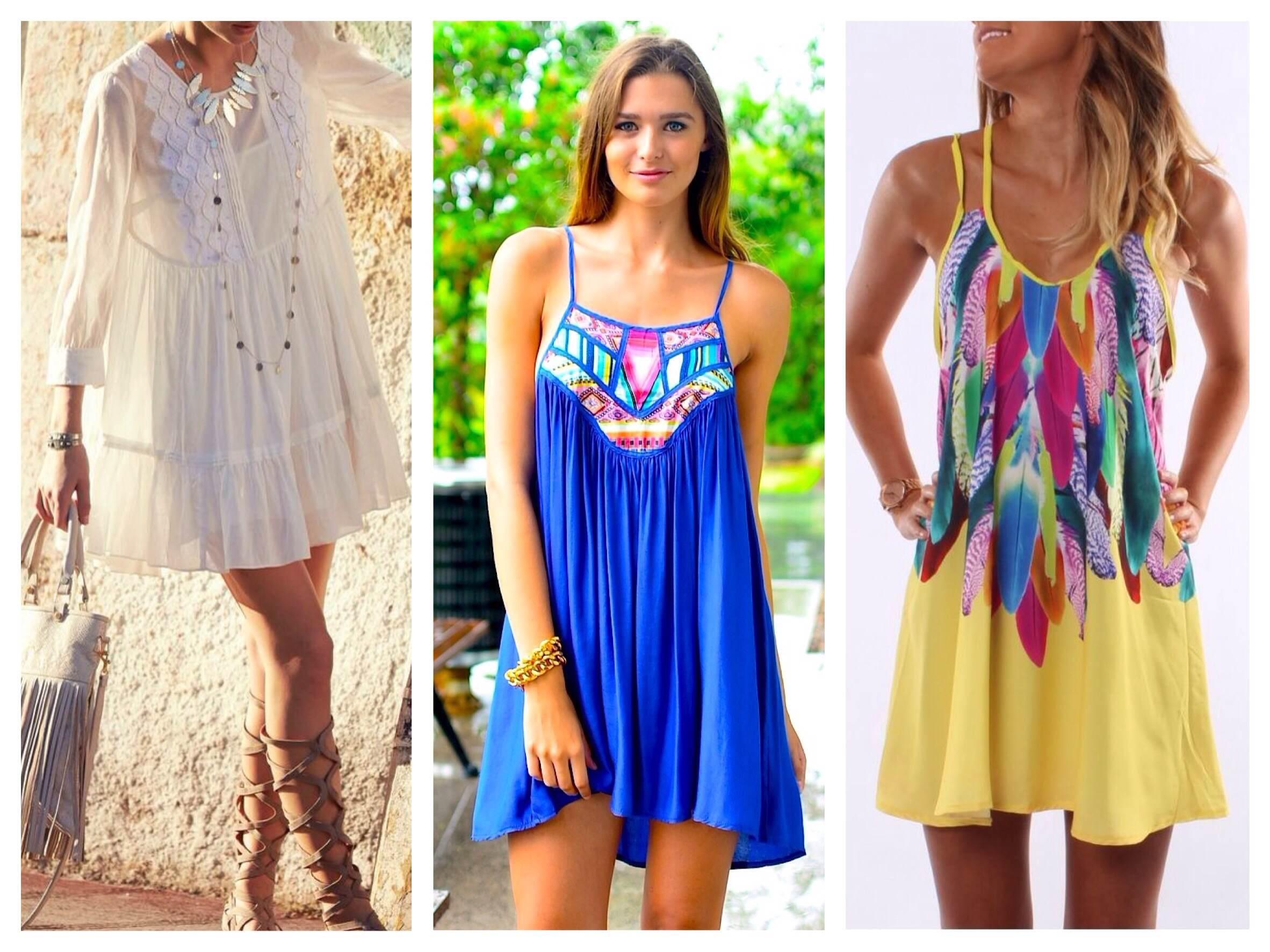 Модная одежда на море