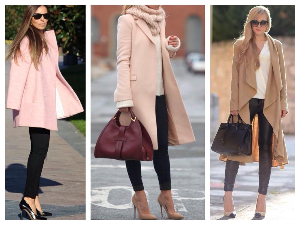 Скинни в комплектах с пальто
