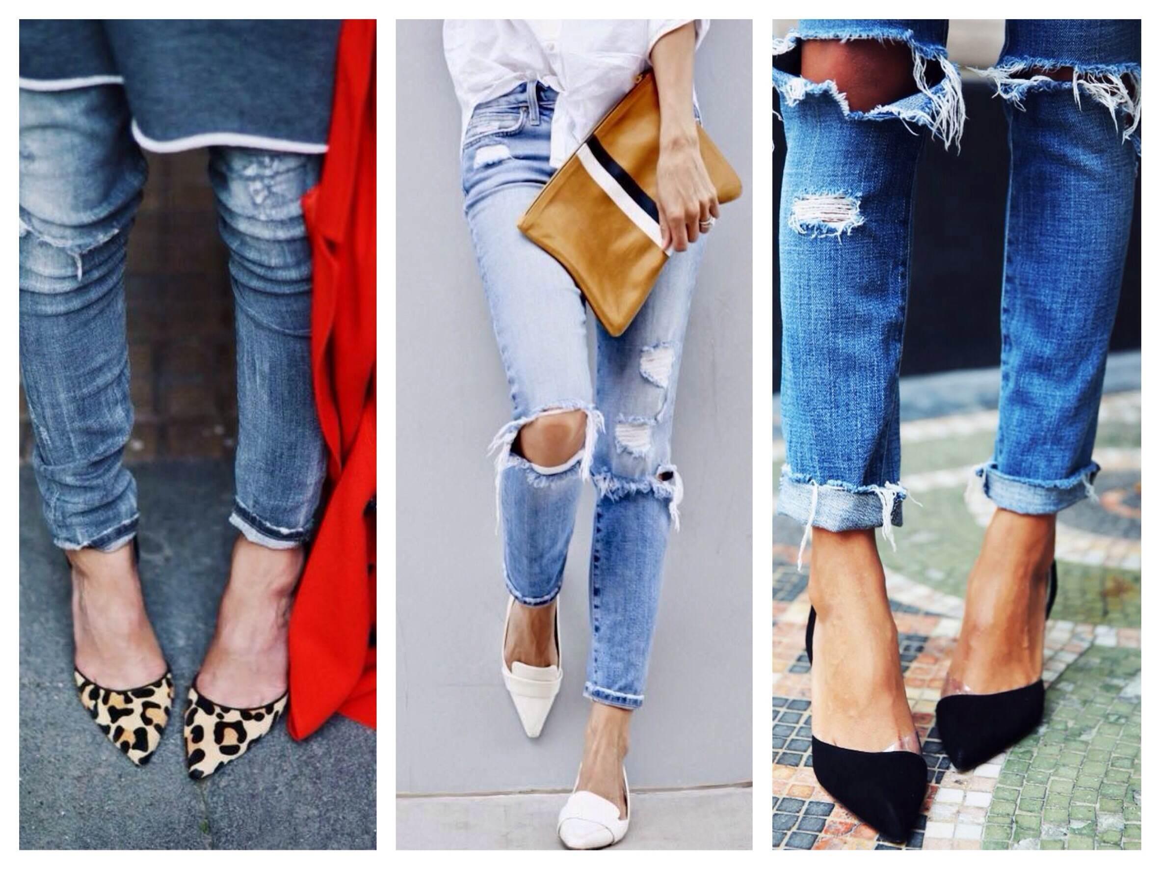 Обувь к джинсам  фото, рекомендации 408dca18fd4