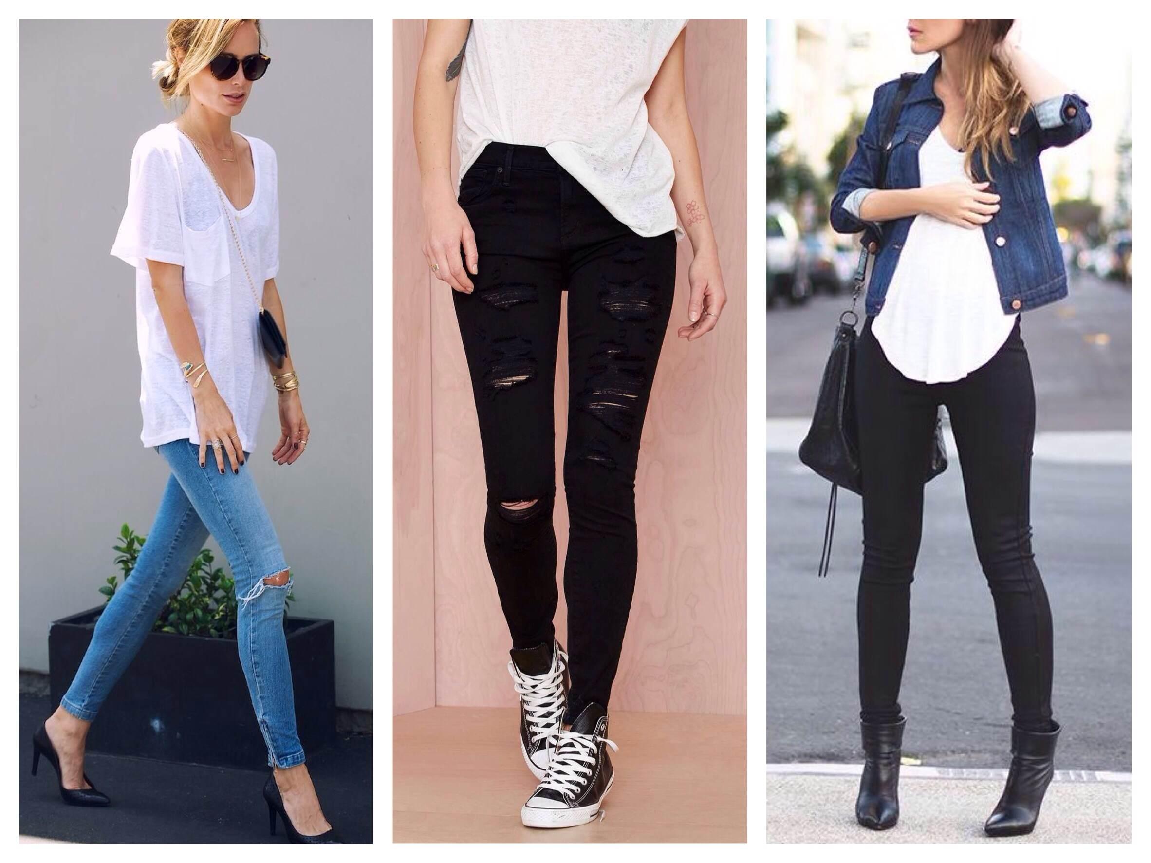 f8c4e16d0d3 Как выбрать и с чем носить джинсы скинни  фото
