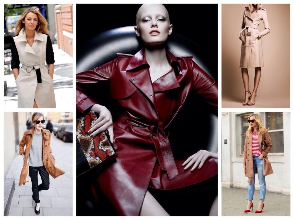 Кожаные модели в образах селебрити и блоггеров