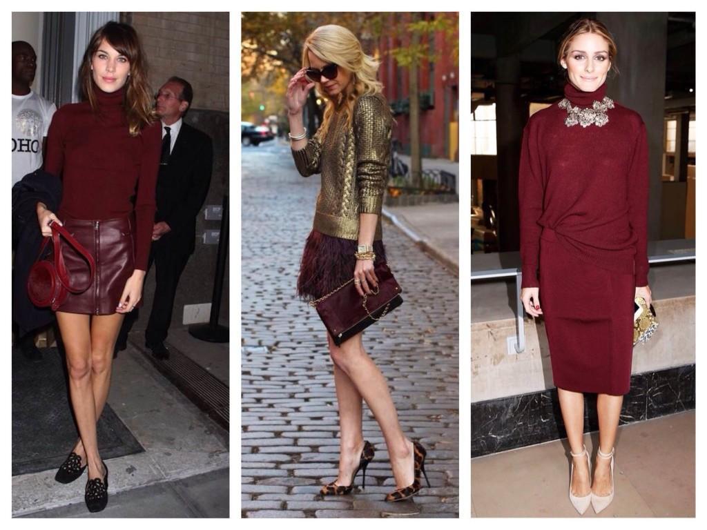 Луки блоггеров в модном цвете