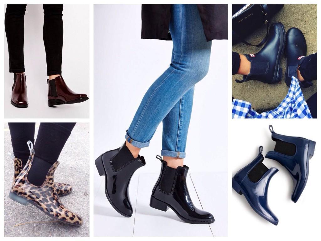 Образы с резиновыми ботинками