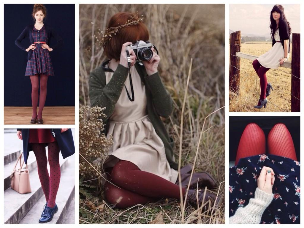 Оттенки красного в модных романтичных луках
