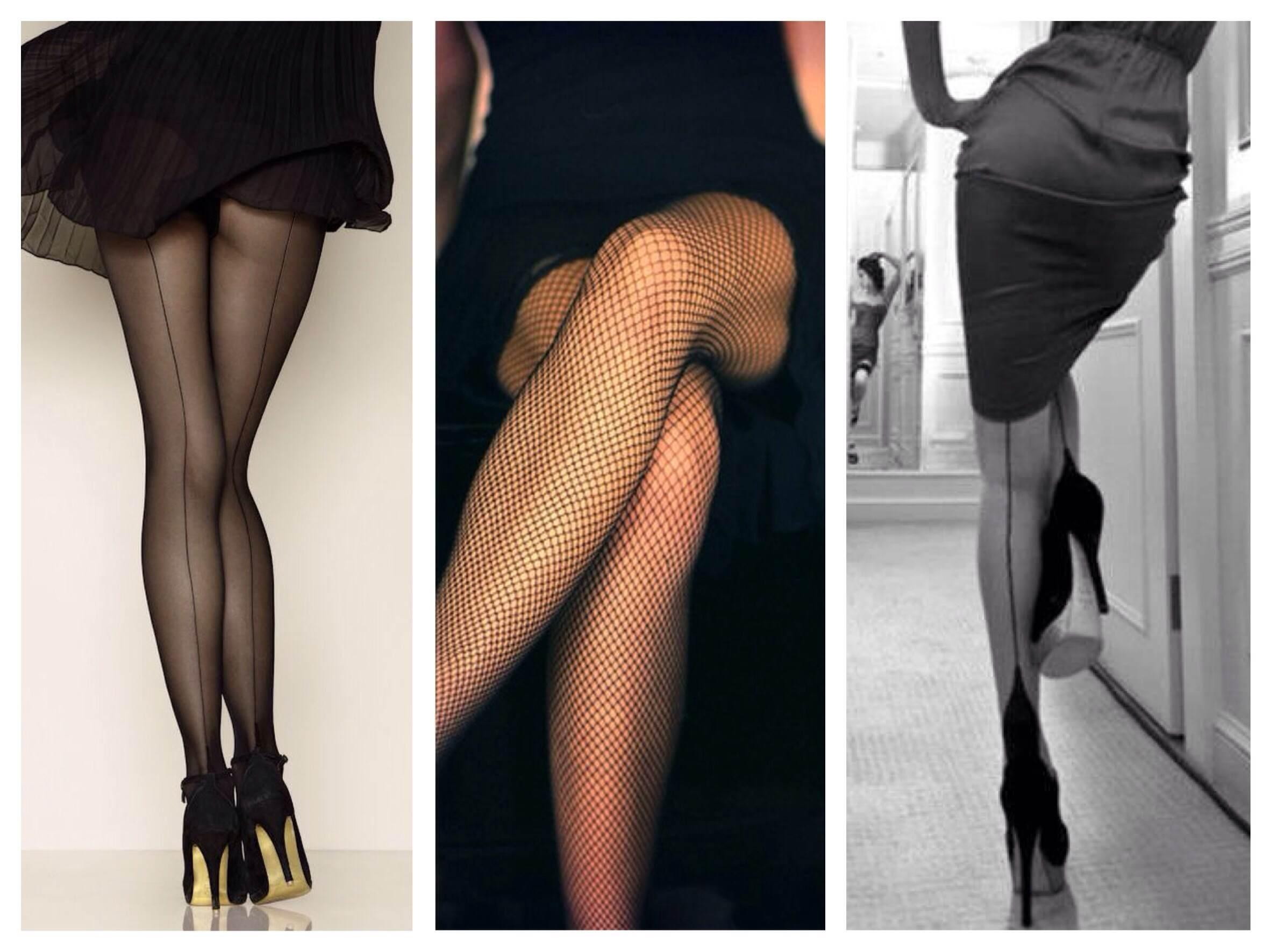 Женские ноги в колготках под юбкой фото — pic 9