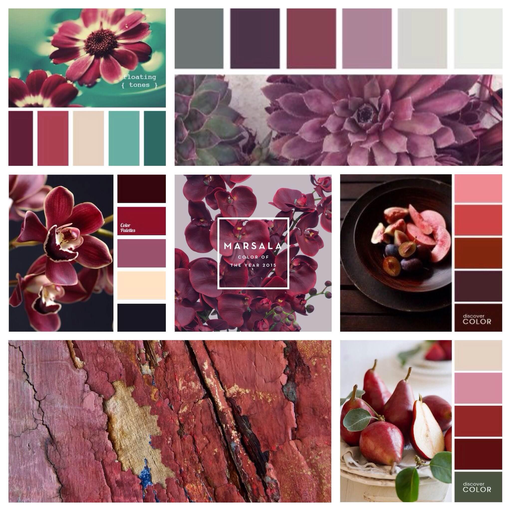 Что такое цвет марсала фото