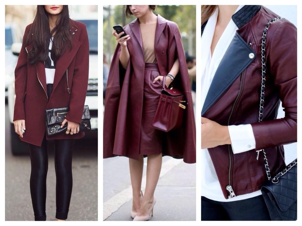 Верхняя одежда модного оттенка