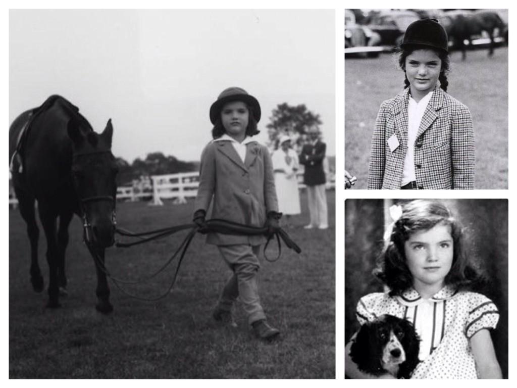 фото Жаклин в детстве