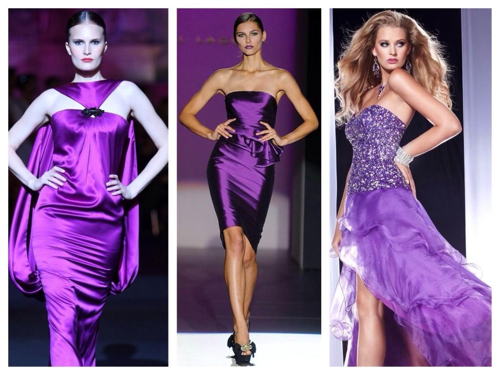 Платья на мировых показах