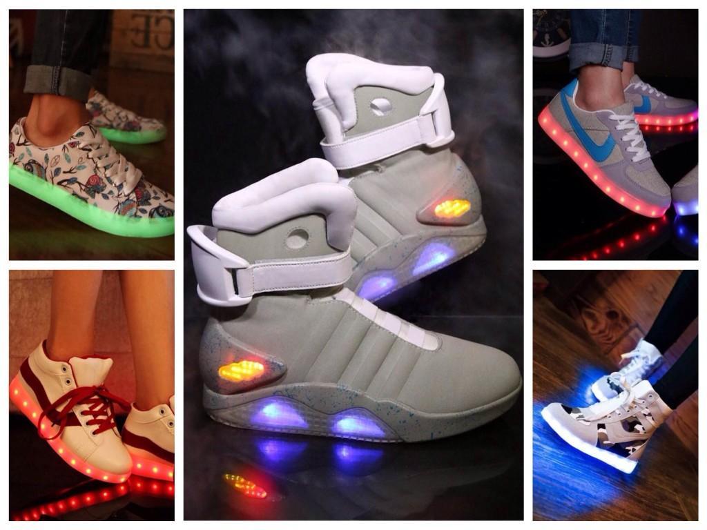 Подсветка на обуви