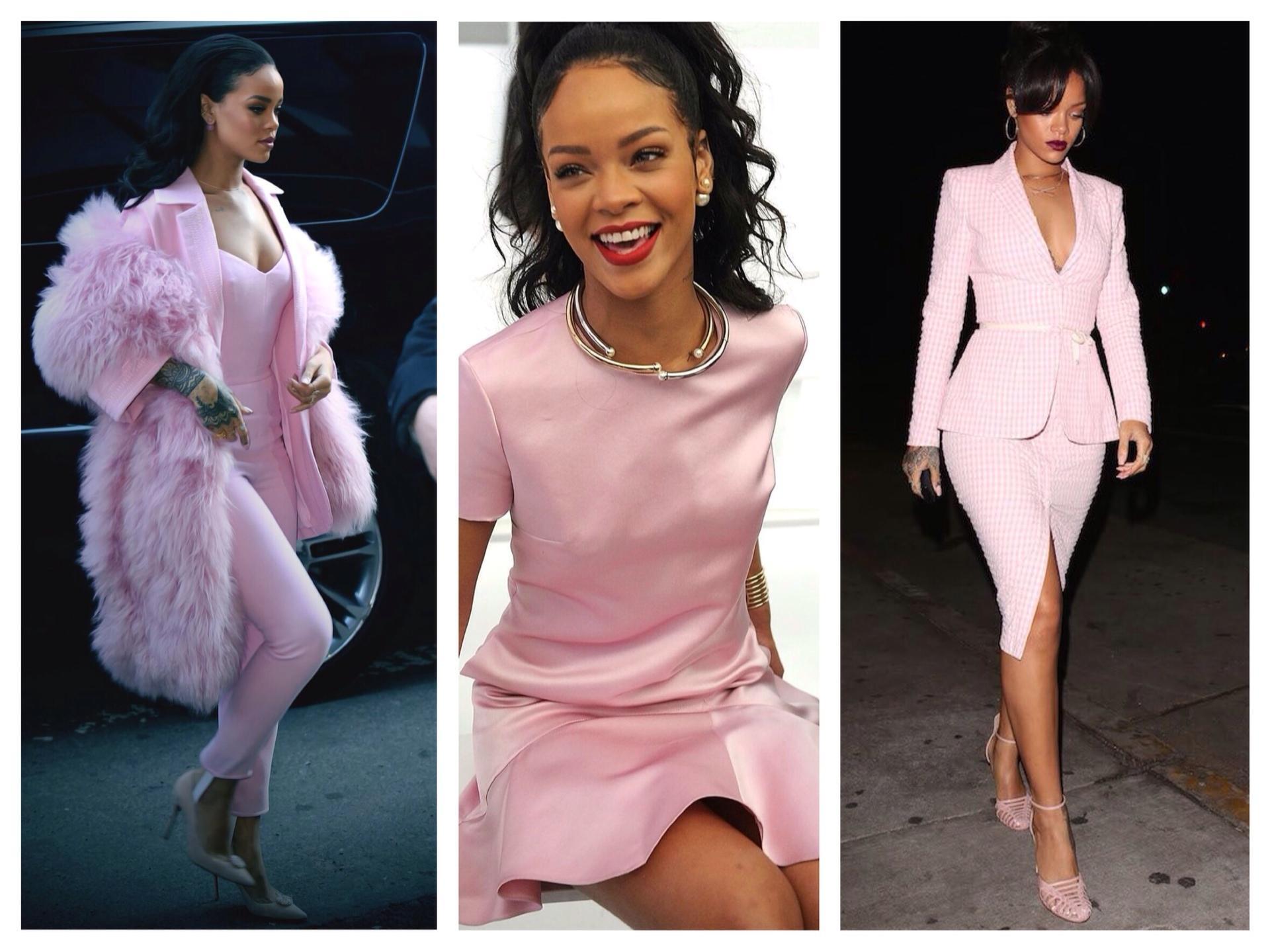 С чем носить розовый цвет в одежде