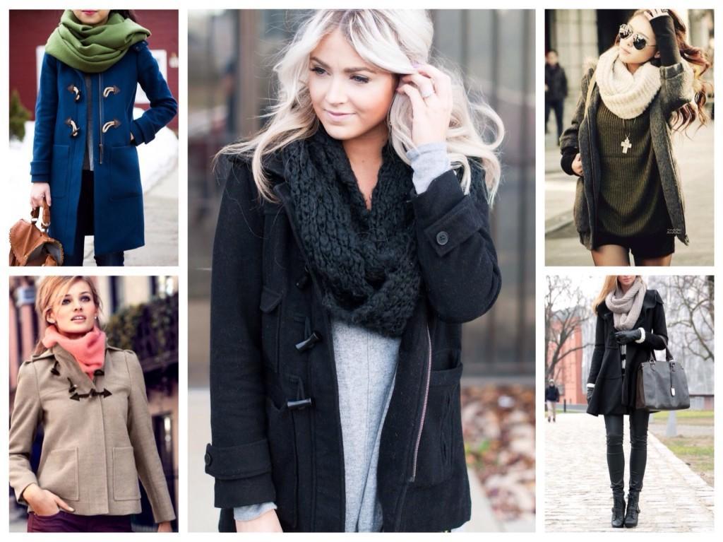 в комплектах пальто