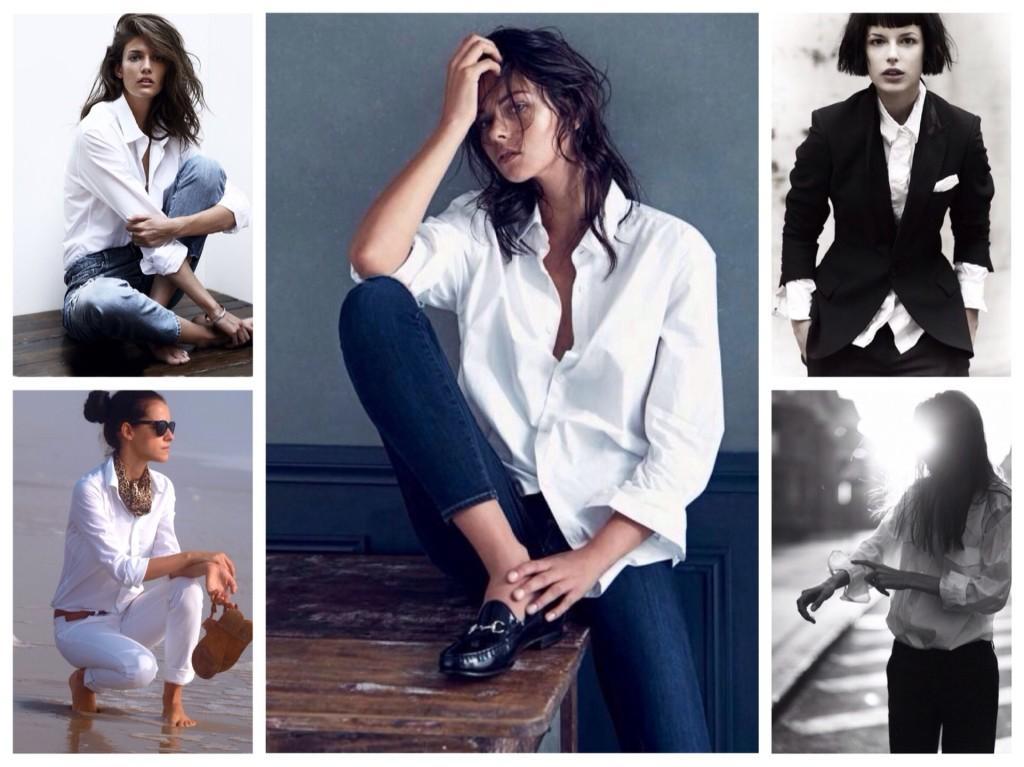 фотосессии с белой рубашкой