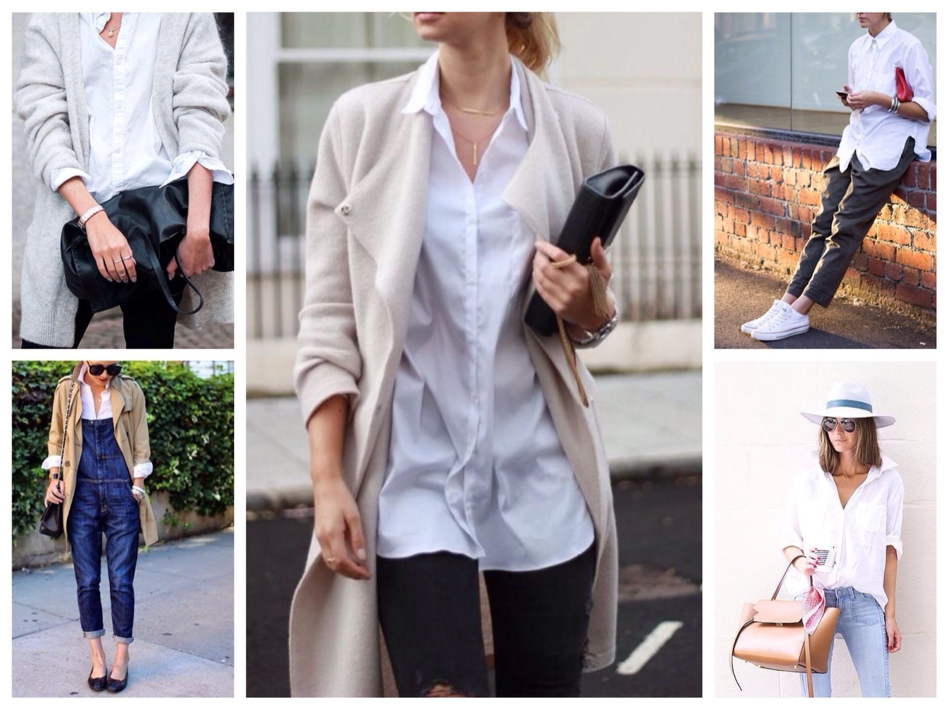 b18faf27462f С чем и как носить белую рубашку: фото, рекомендации