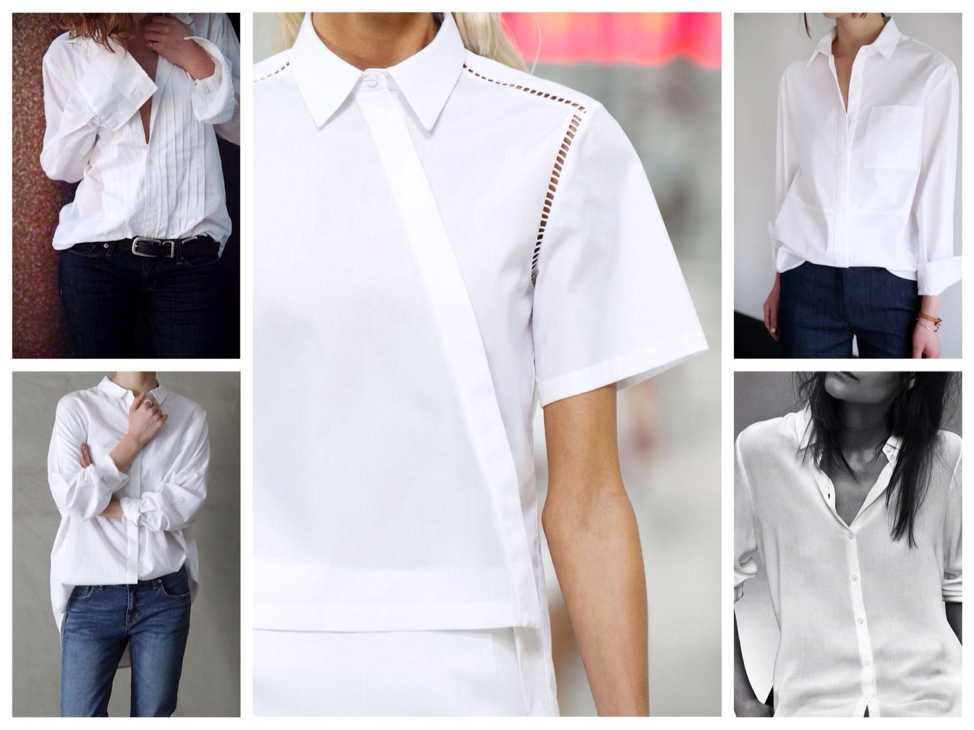 efe82c33d5b варианты фасонов белых рубашек. Варианты моделей. Белая ...