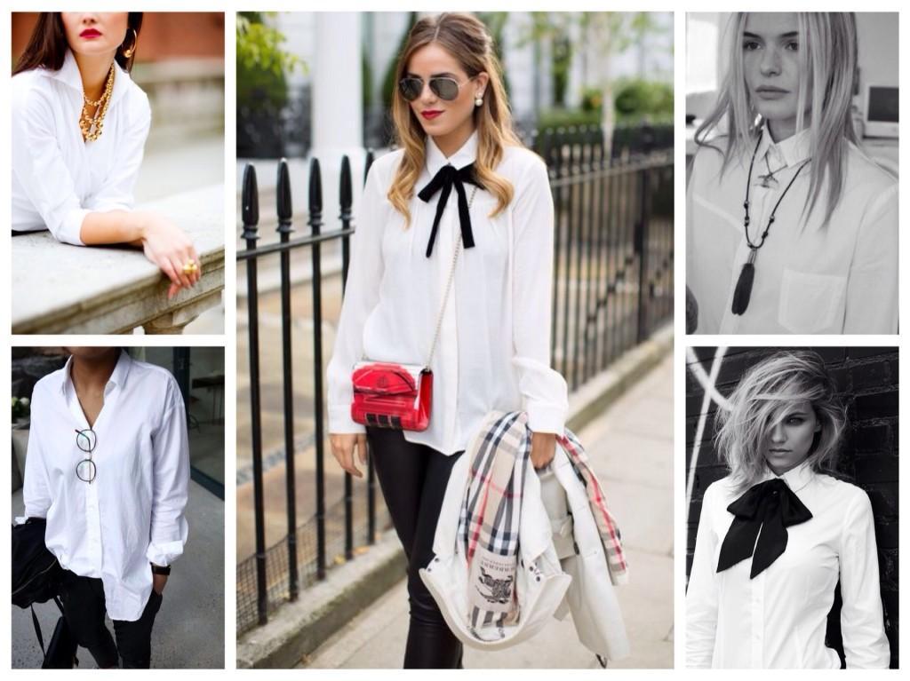 украшения для белой рубашки