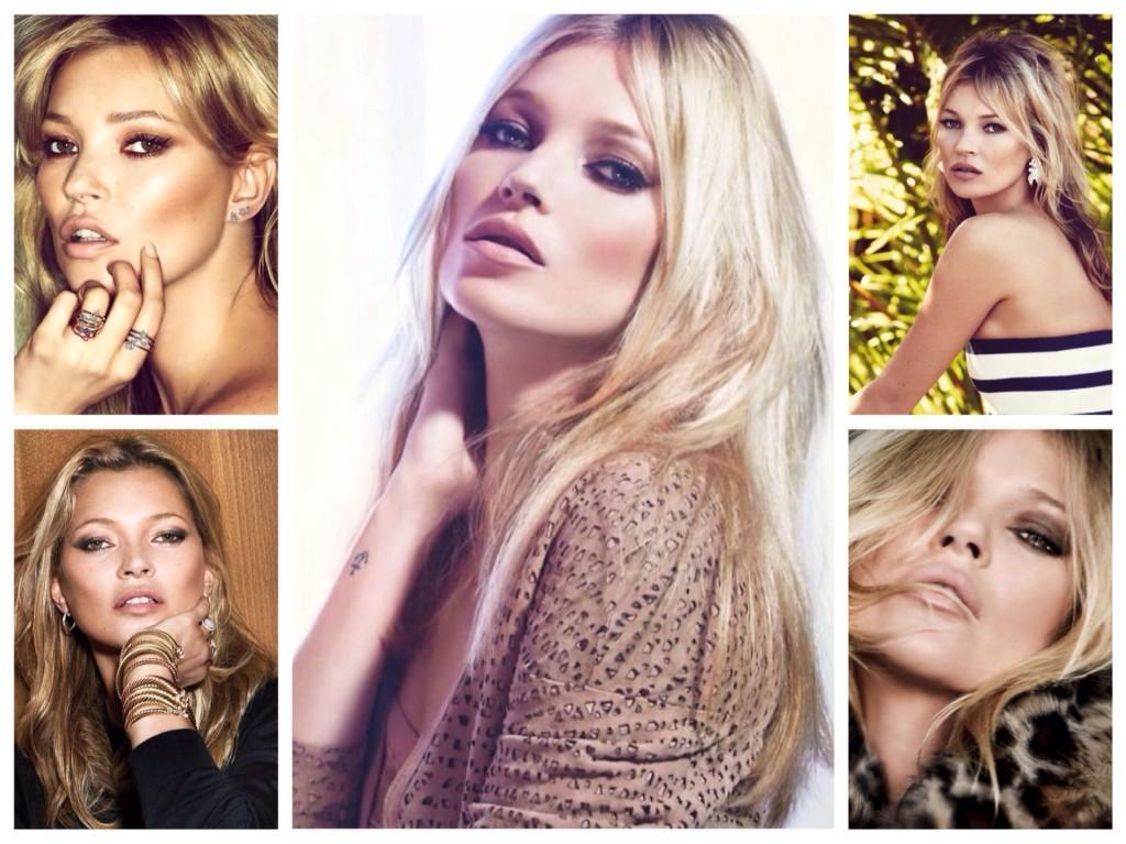 Кейт Мосс макияж