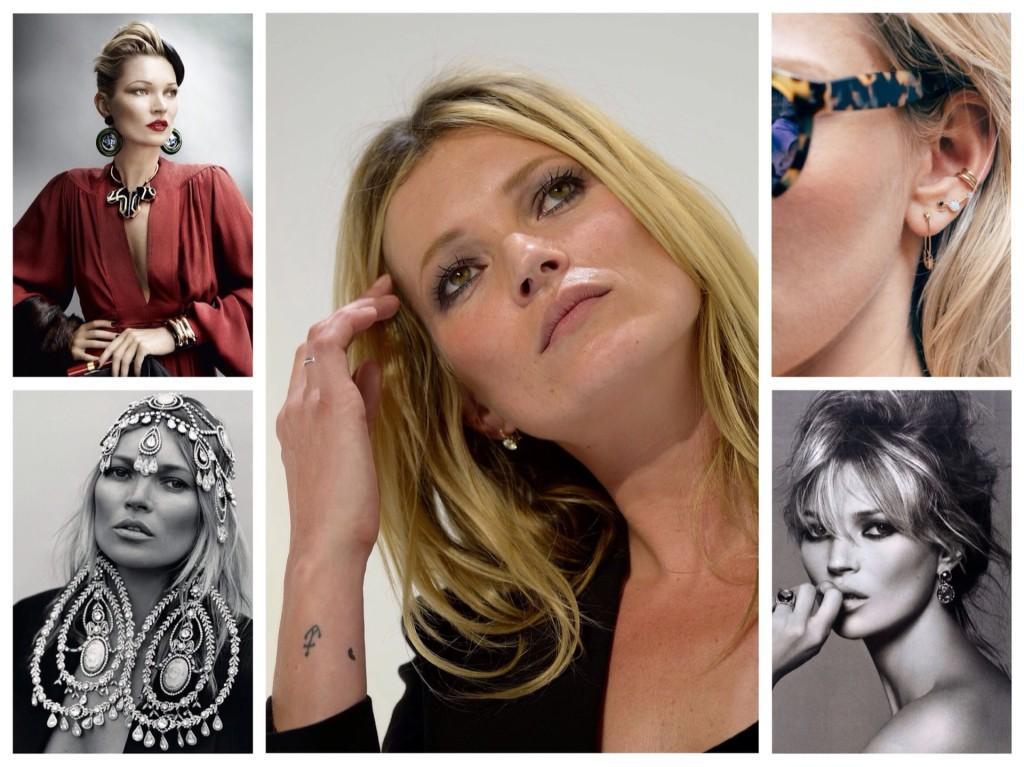 Татуировки и украшения Кейт Мосс