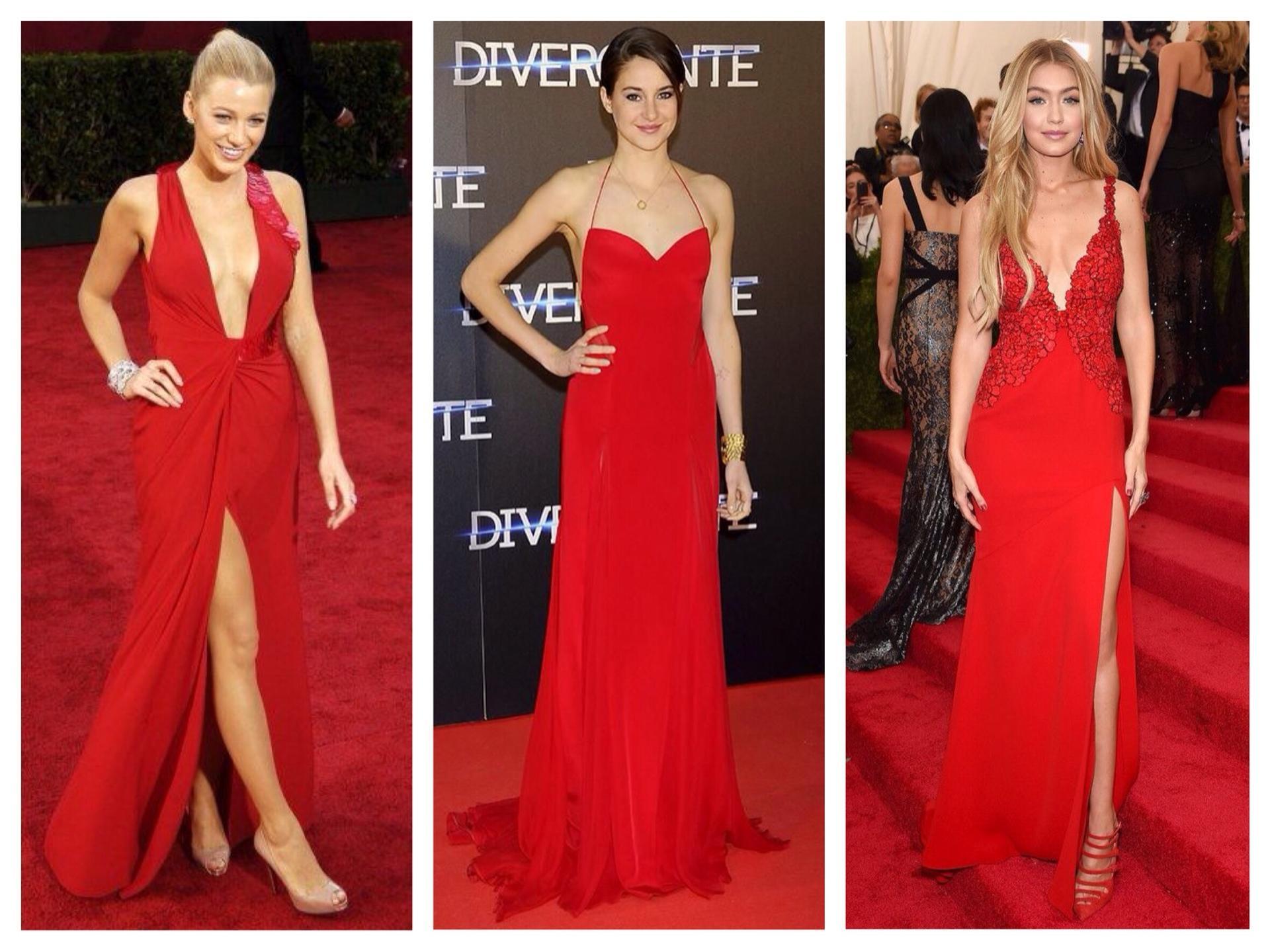 09e7540b1e0 С чем носить красное платье  фото