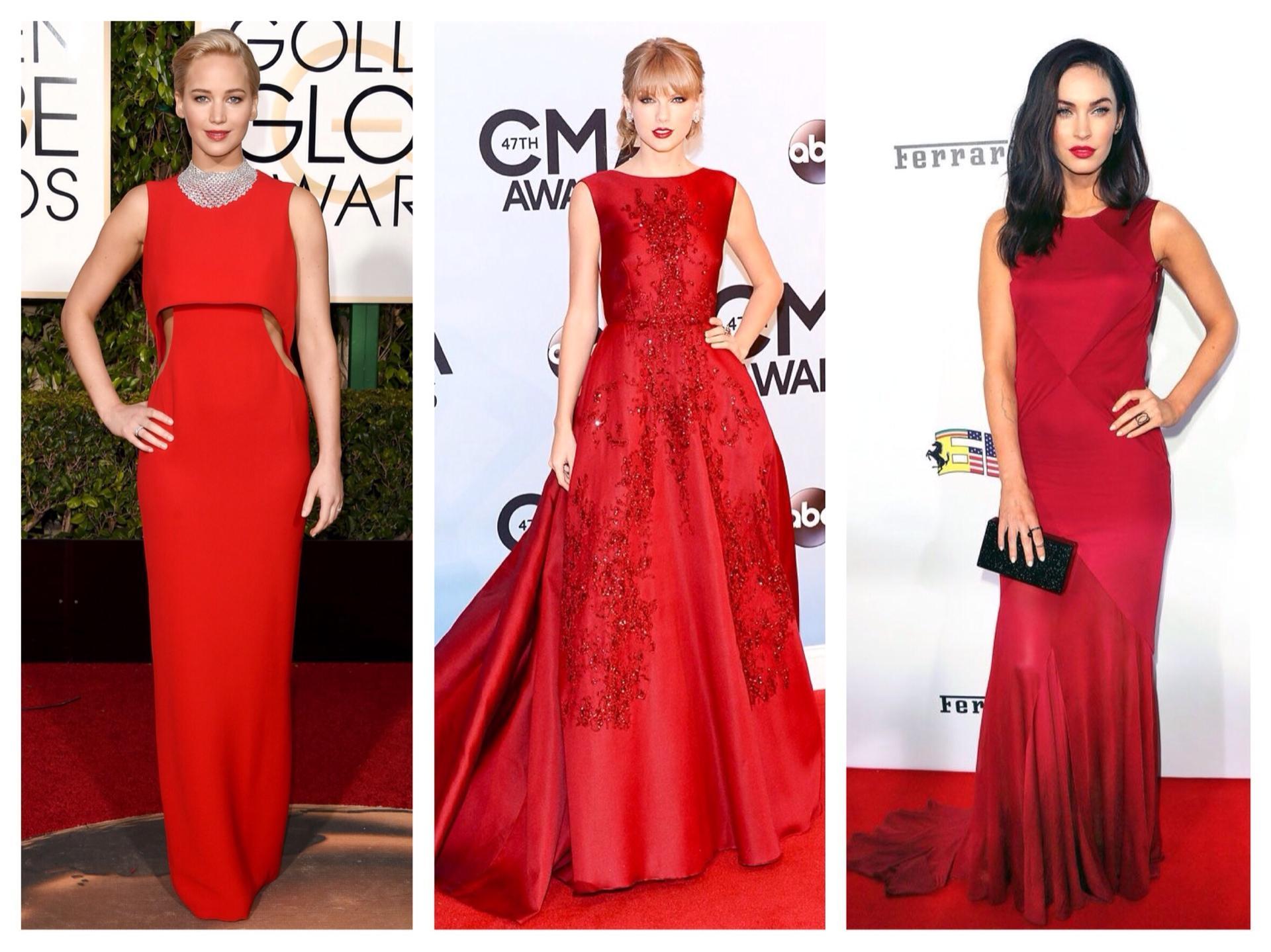 106839b1785 С чем носить красное платье  фото