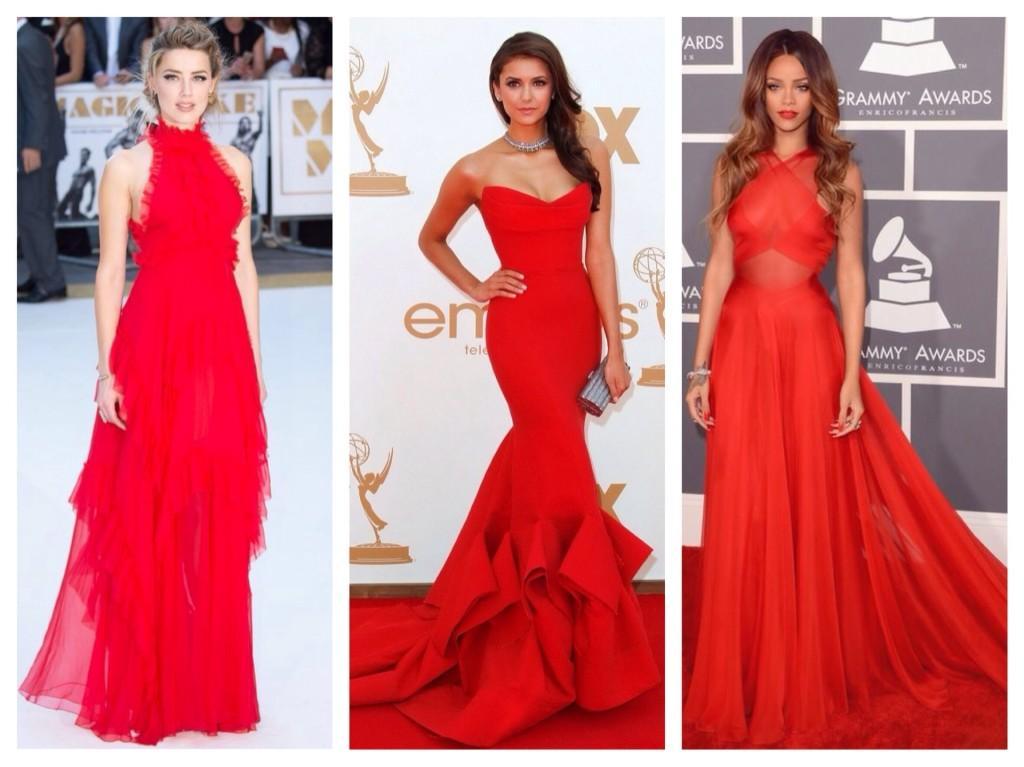 Платья для красной ковровой дорожки