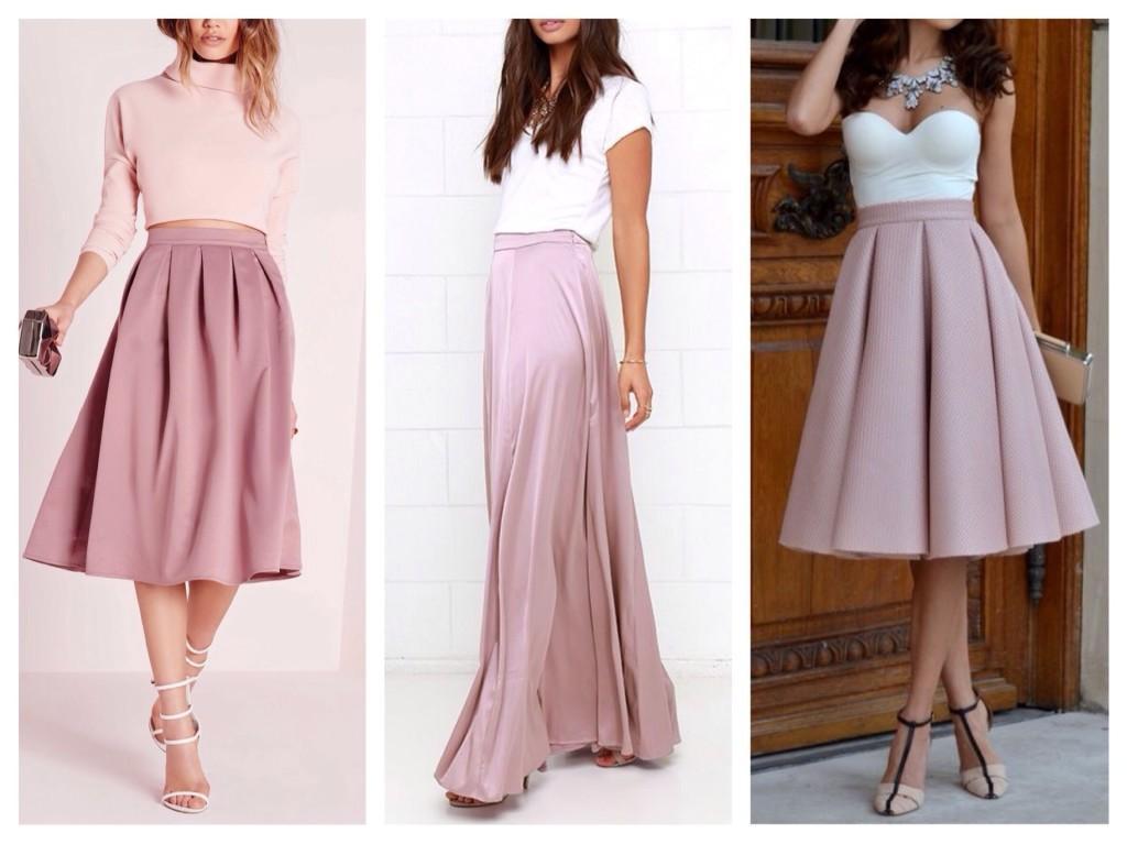 лиловые юбки