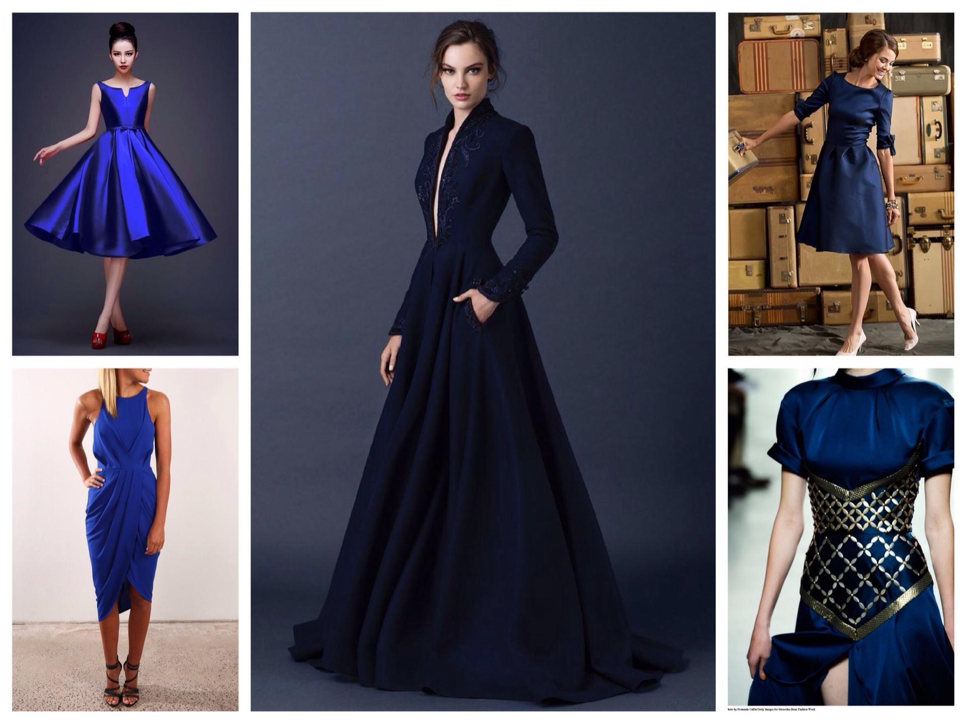 Голубое платье и аксессуары к нему