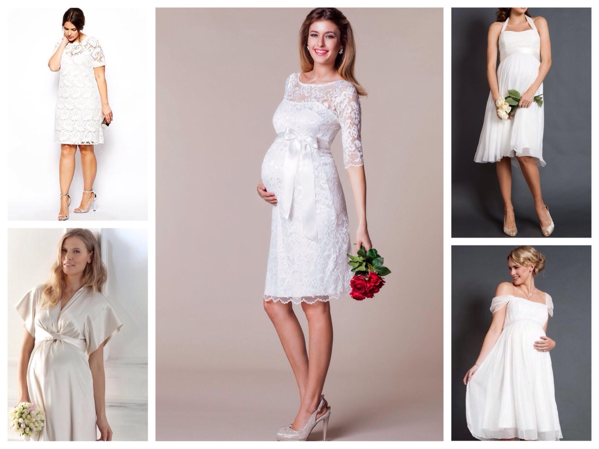 980c0bff7782f2a короткие свадебные платья для беременных